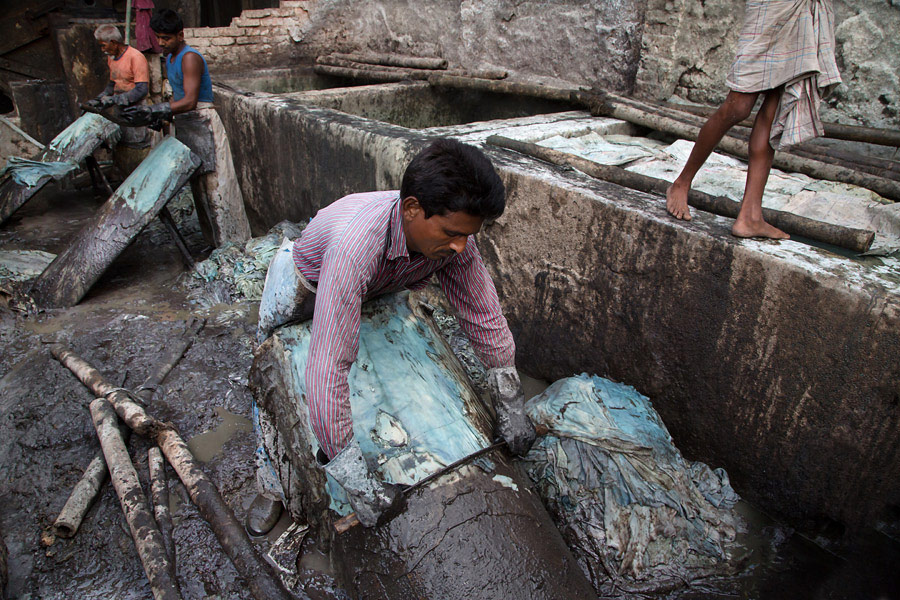 tannery industries in the hajaribagh area Hazaribagh's tannery a woman prepares poultry and fish feed from waste hide at hazaribagh tannery area a worker of a tannery industry is working at.